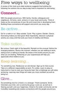 wellbeing steps