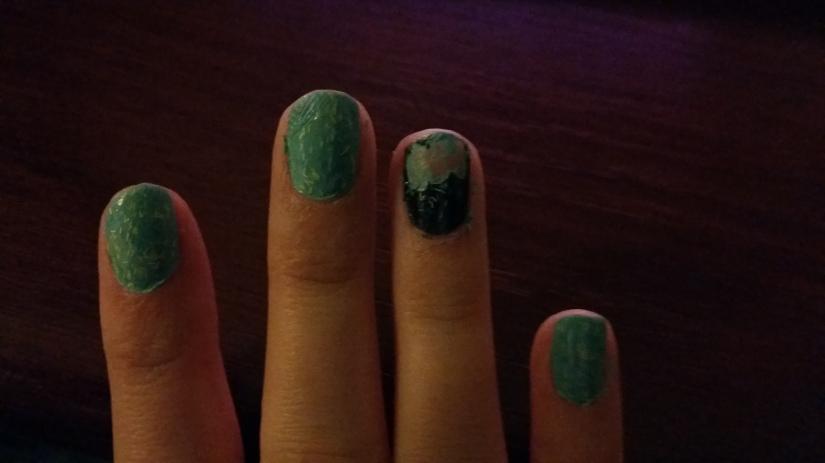 My manicure mishap