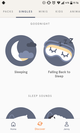 I want to try the sleep meditations.